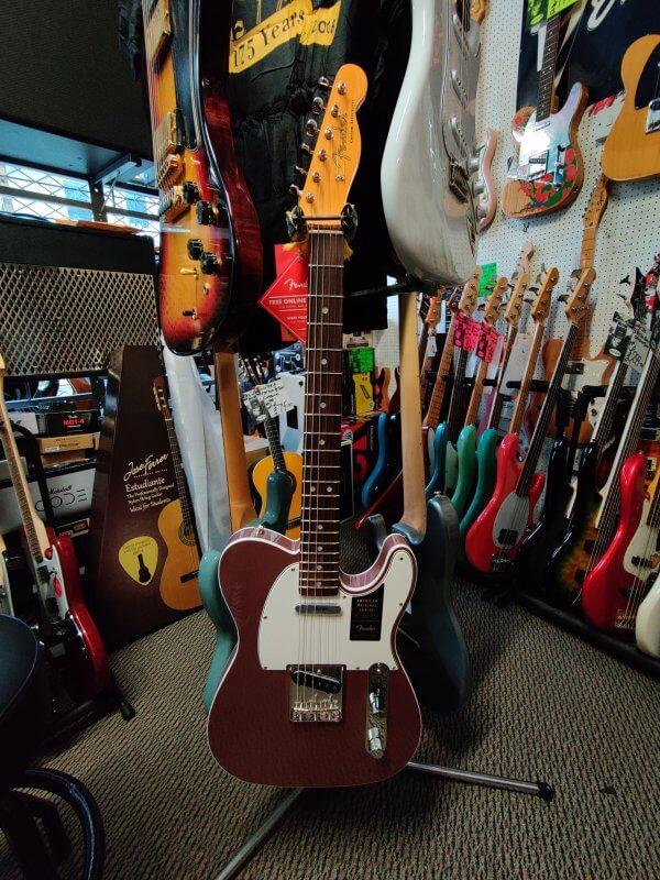 Fender American Original 60's Telecaster - Burgundy Mist