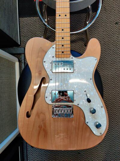 Fender Squier CV Thinline Natural Telecaster