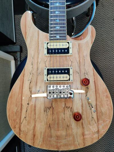 PRS SE Custom 24 Ltd Ed Spalted Maple
