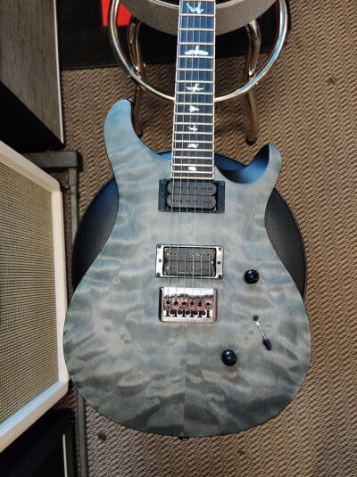 PRS SE Mark Holcomb Satin Limited Edition Whale Blue