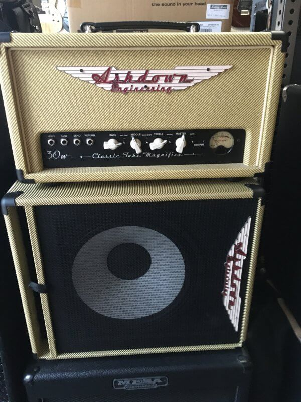 Ashdown 20th Anniversary Tweed Ltd Ed CTM-30 Valve Bass Amp and Cab