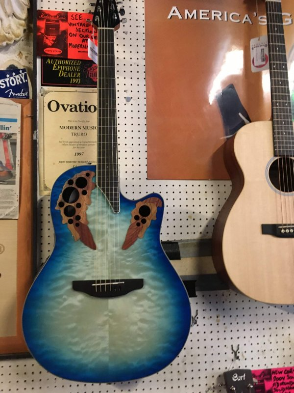 Ovation CE48P Celebrity Elite Plus Super Shallow Bowl