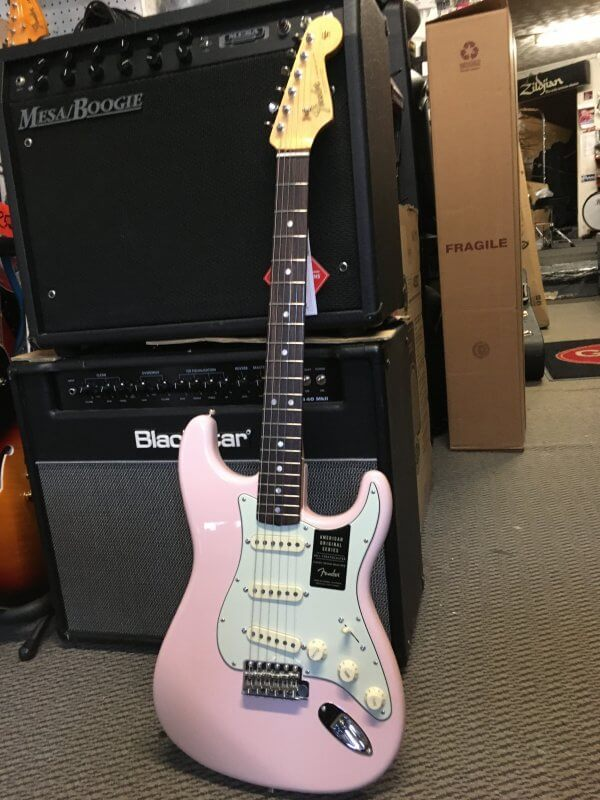 Fender American Original Series 60's Shell Pink Stratocaster