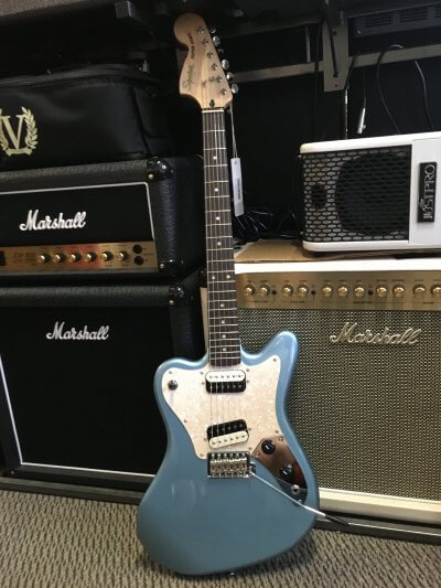 Fender Squier Paranormal Super-Sonic Ice Blue Metallic