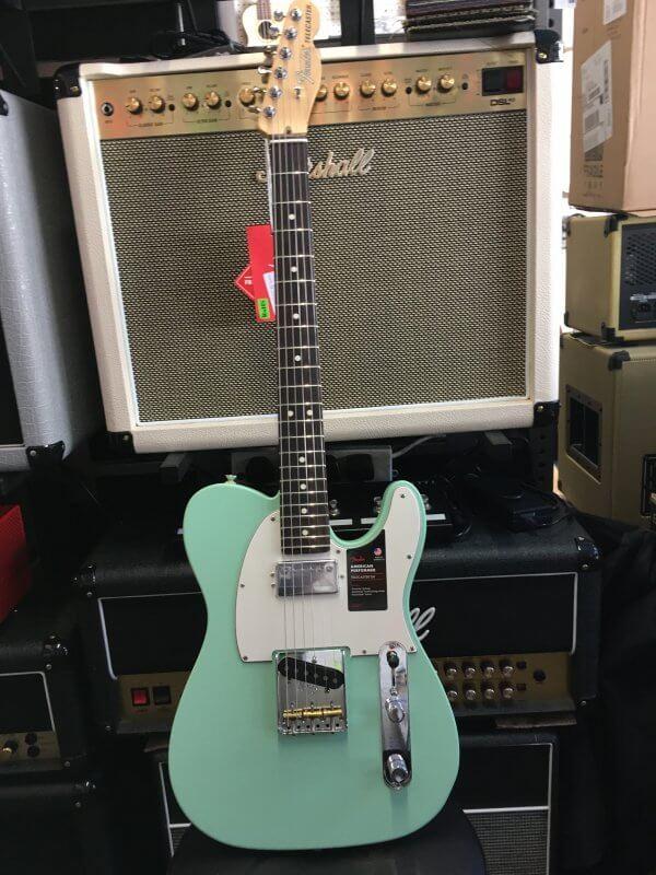 Fender Performer Tele S/F/Green